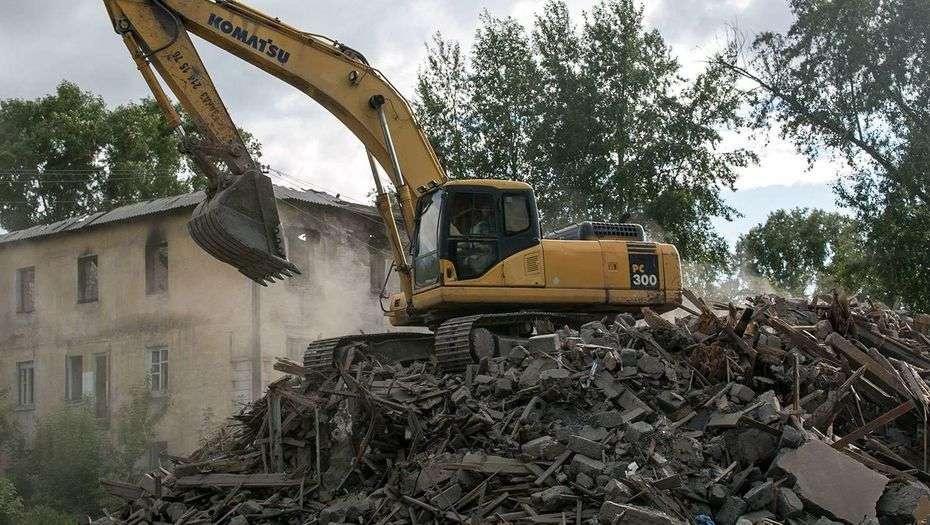 В Астане снесут аварийные жилые дома