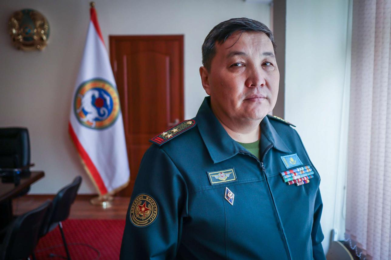 Полковник Усербаев