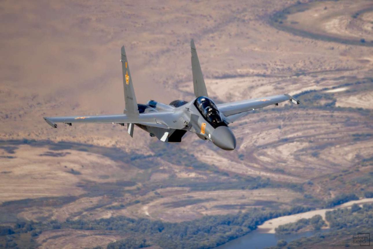 Су-30СМ военно-воздушных сил Казахстана