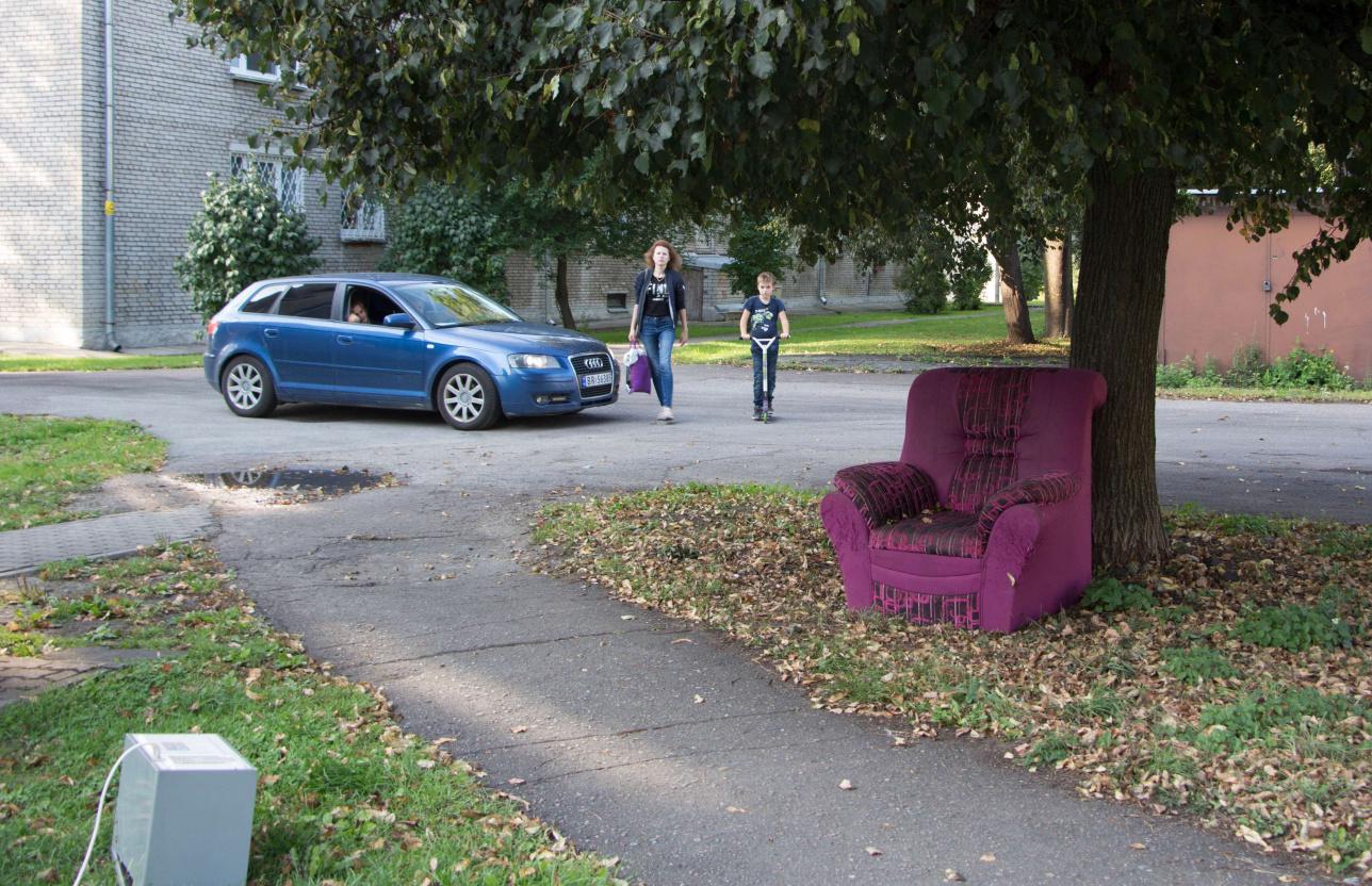 За вывоз кресла надо платить отдельно