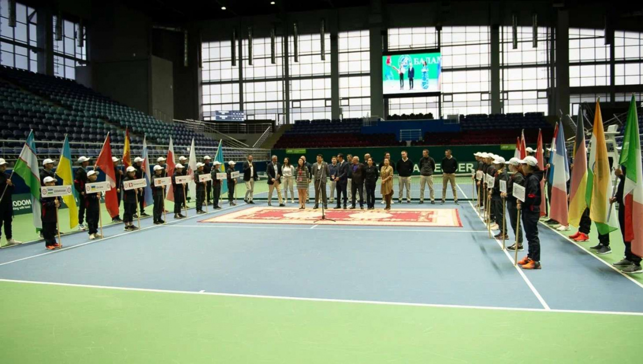 Открытие турнира Nur-Sultan Challenger