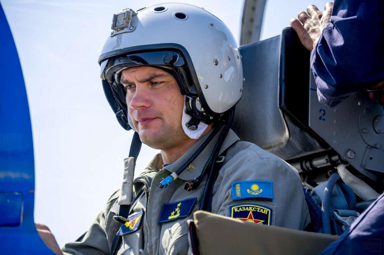 Антон Дайнеко, заместитель командира авиационной эскадрильи, капитан