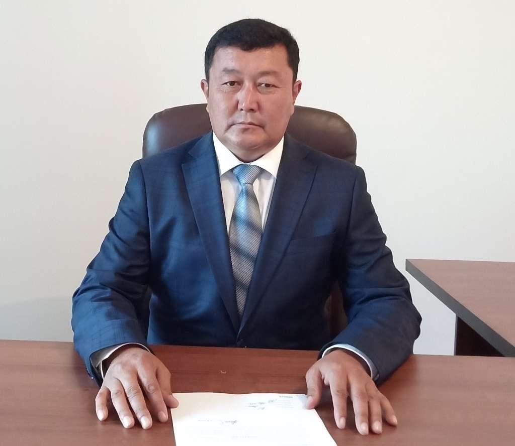 Бахтияр Абдиев, руководитель отдела образования Келесского района