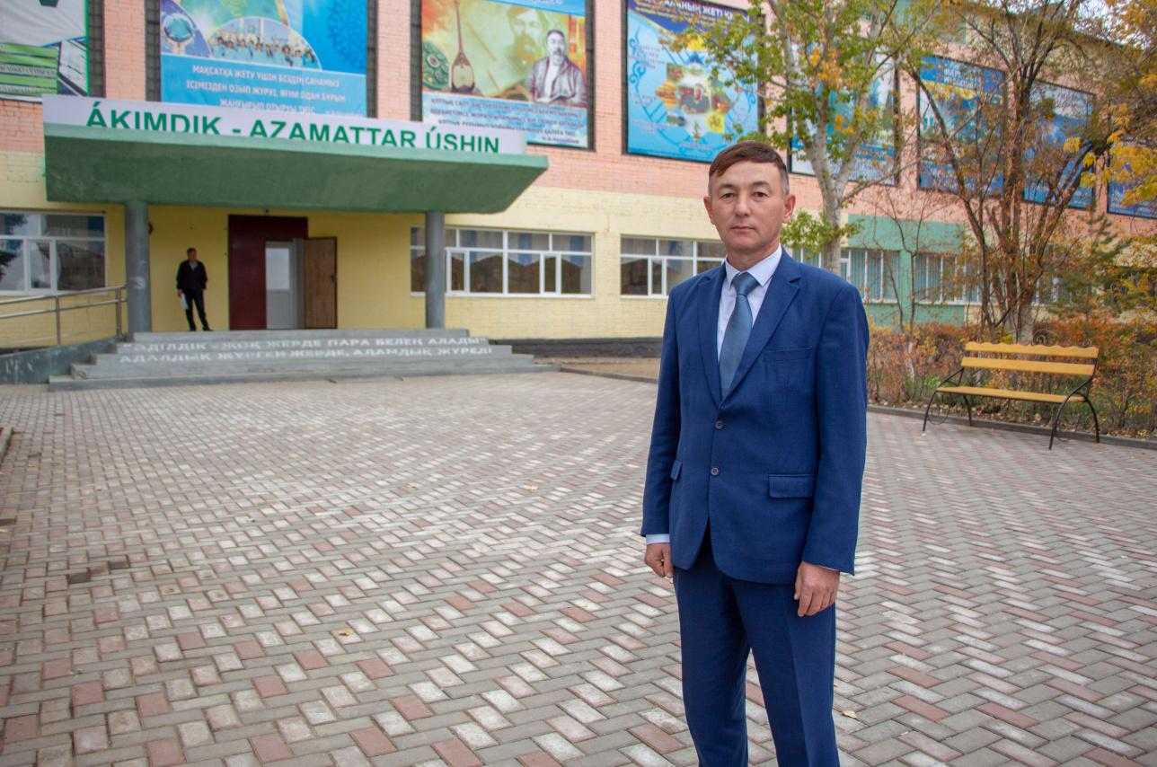 Нурбол Сурбаев, аким города Алга