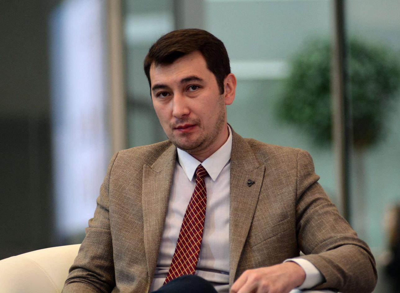 "Eправляющий директор холдинга ""Байтерек"" Адиль Нургожин ."