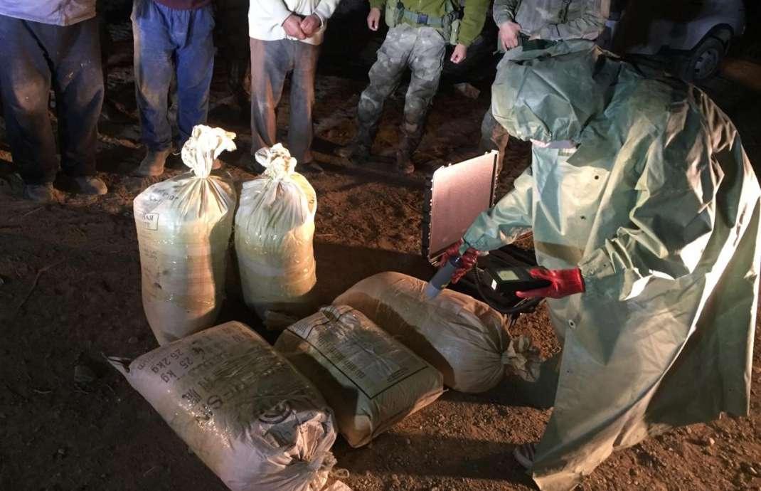 В Кызылординской области пытались сбыть 240 килограмм уранового сырья