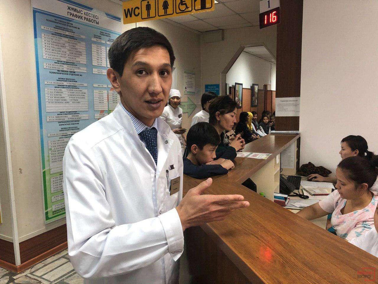 Главный врач стоматологии Рузуддинов