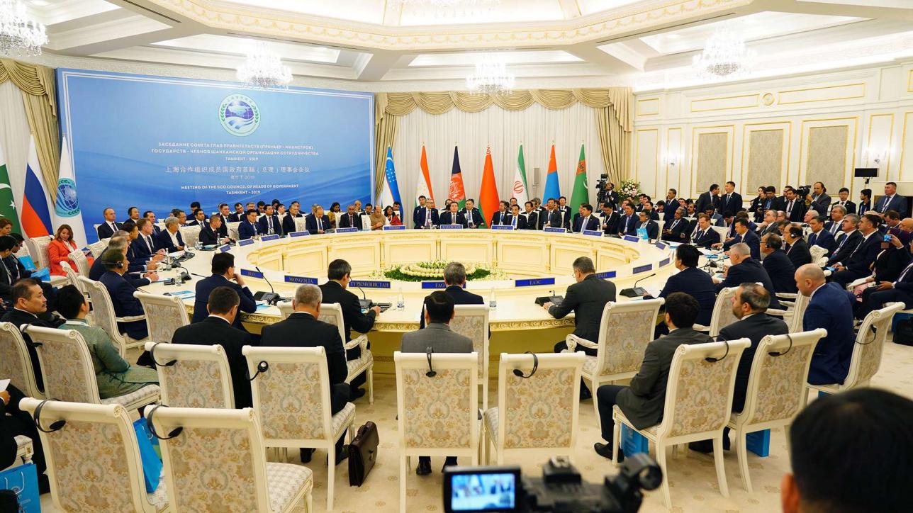 Заседание глав правительств государств-членов ШОС