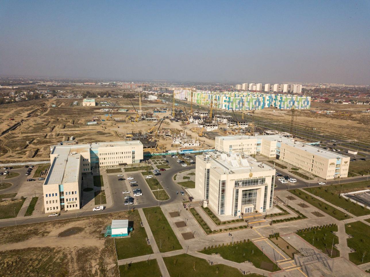 Наурызбай ауданының әкімшілік кешені