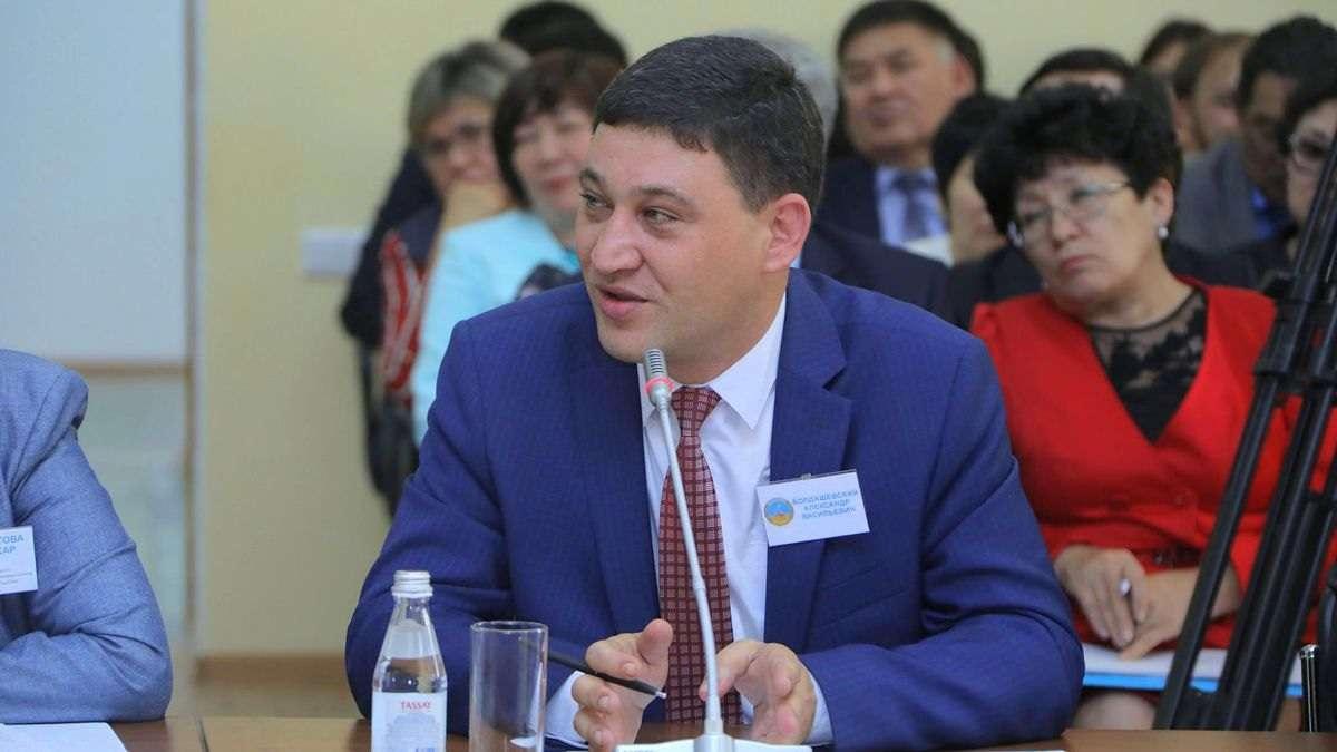 На фото: руководитель колледжа Александр Болдашевский