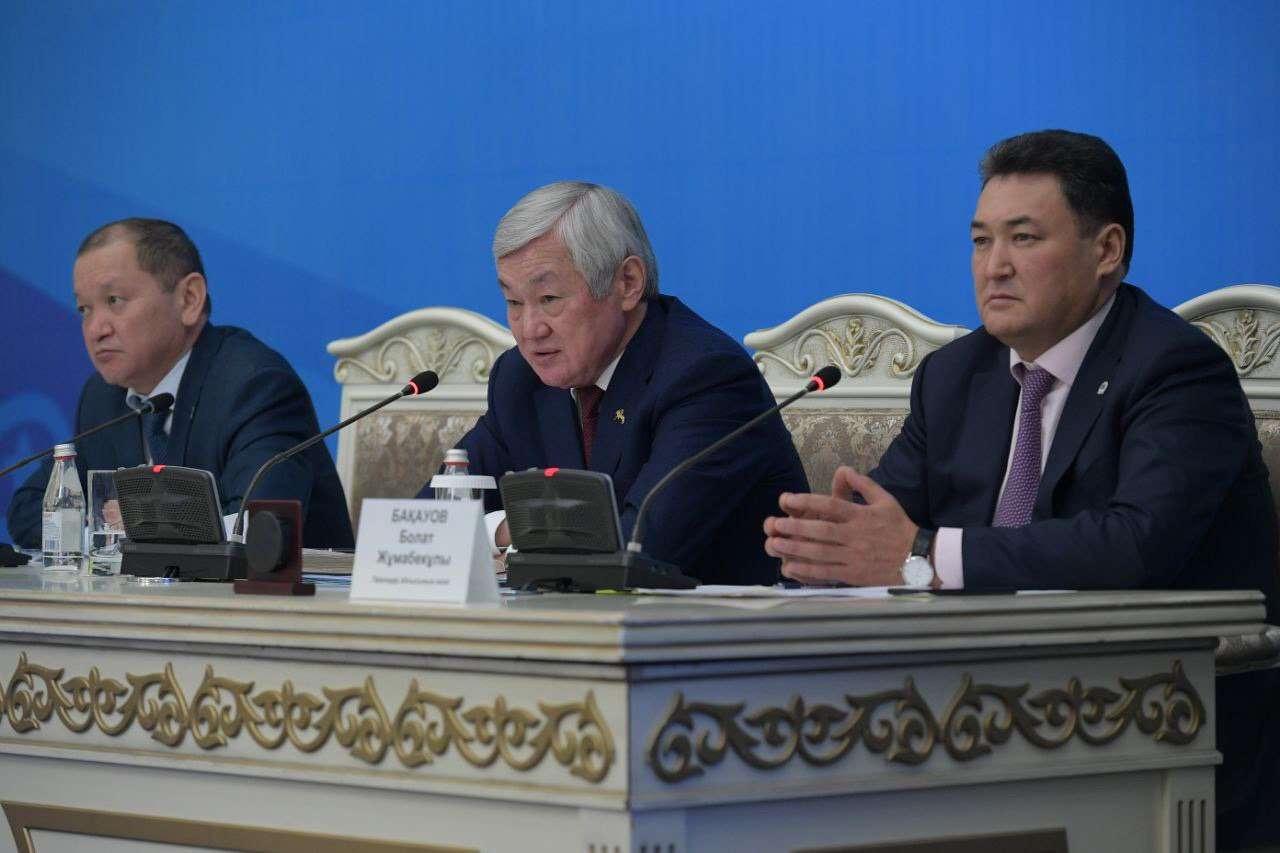 Бердыбек Сапарбаев встретился с общественностью Павлодарской области