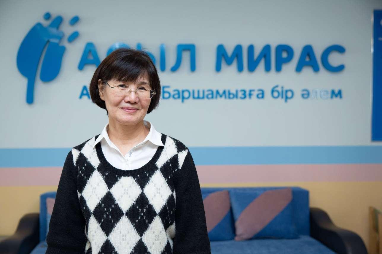 "Карлыгаш Жагипарова, директор аутизм-центра ""Асыл Мирас"""