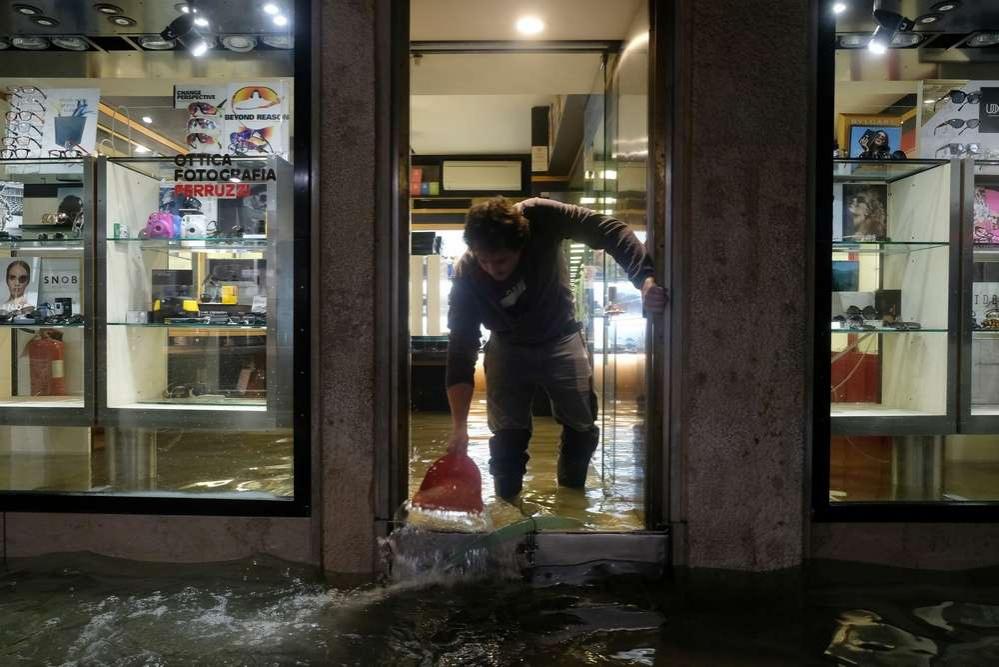Уровень воды в городе достиг 187 см