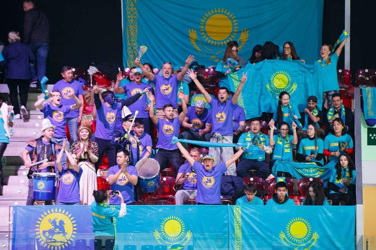Казахстанские болельщики как всегда были на высоте