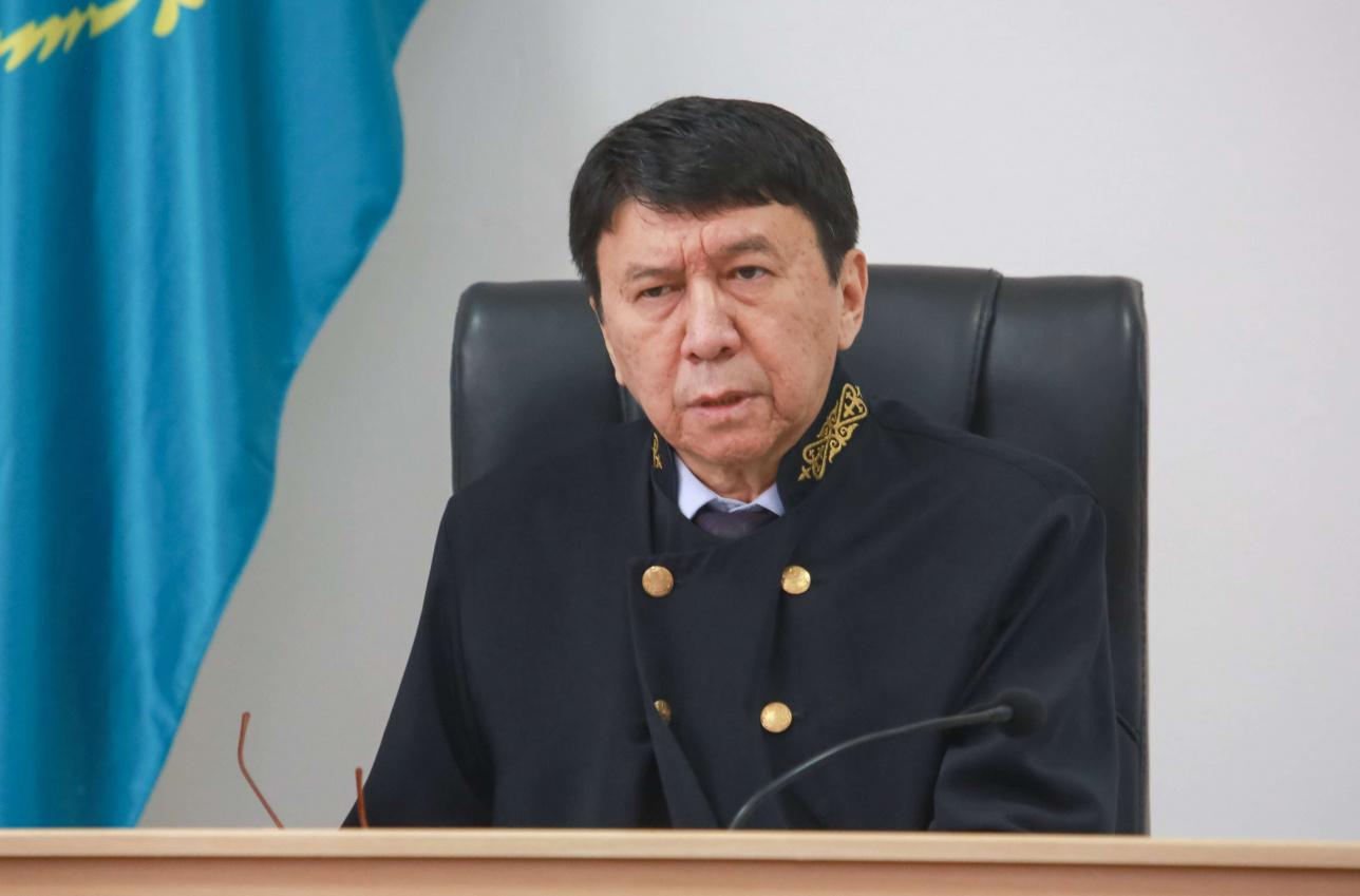Судья Адильхан Шайхисламов.