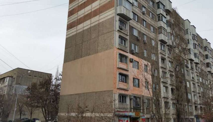 Алматыдағы үйлердің сыртқы келбеті әртүрлі