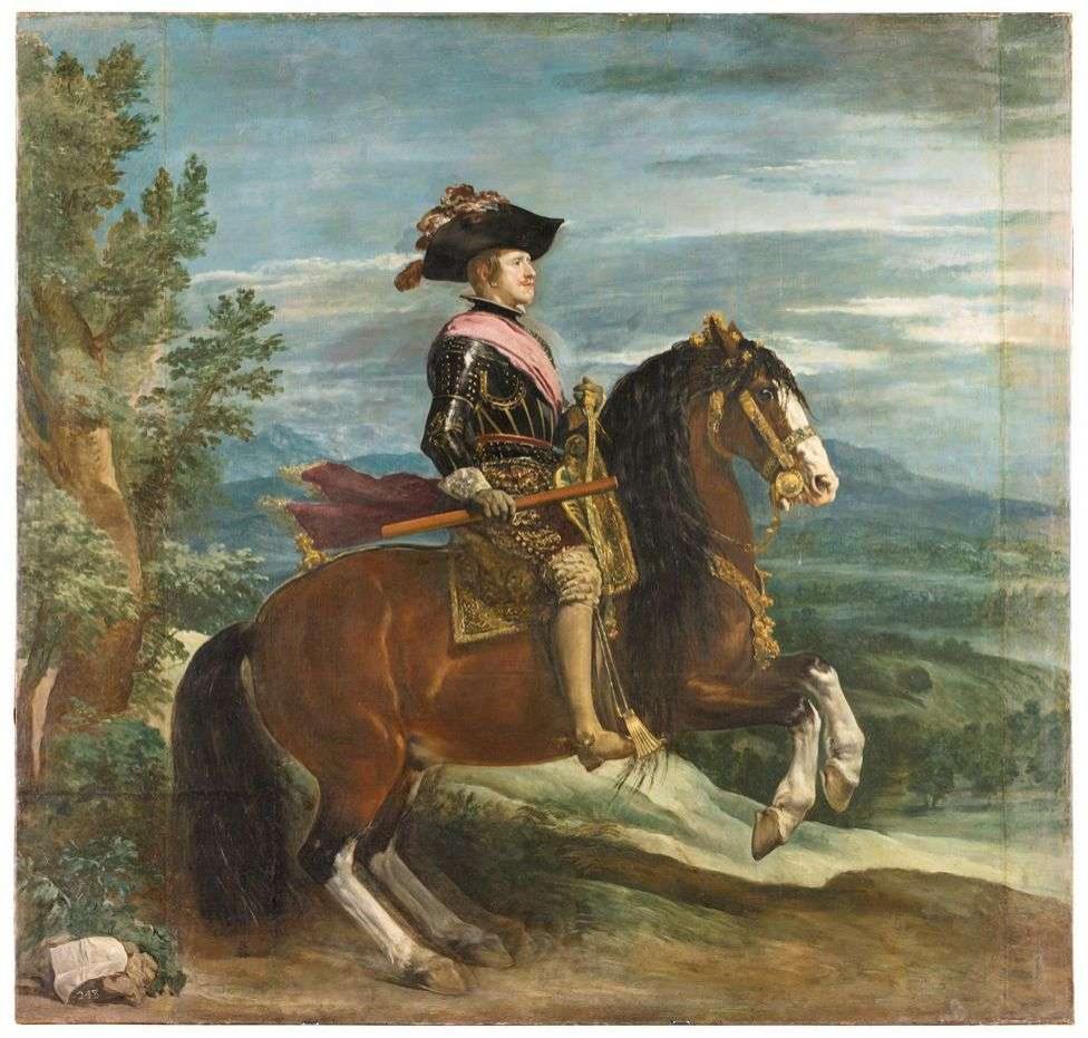 Портрет короля Филиппа IV Диего Веласкеса