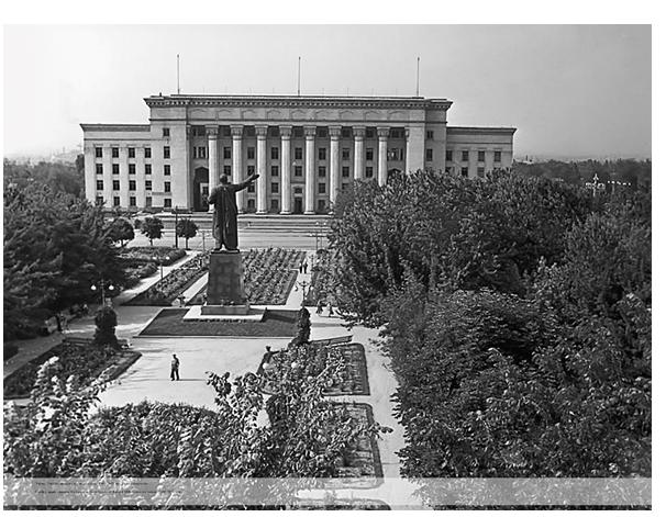 Дом Правительства 1960-70 годы