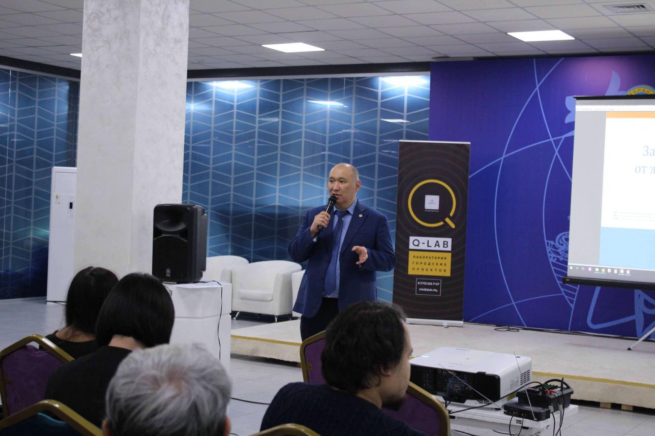 Руководитель управления городского планирования и урбанистики Алмасхан Ахметжанов