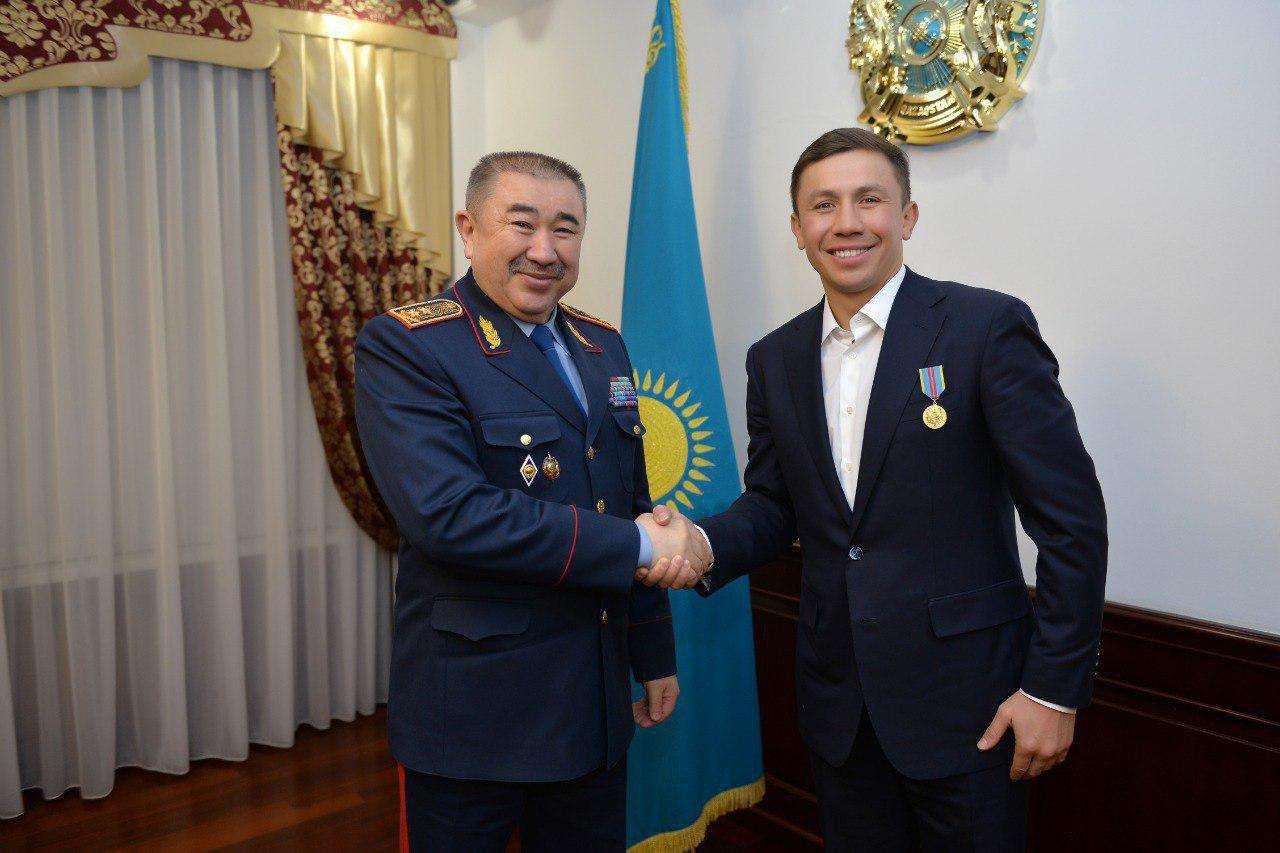 Геннадий Головкин и Ерлан Тургумбаев