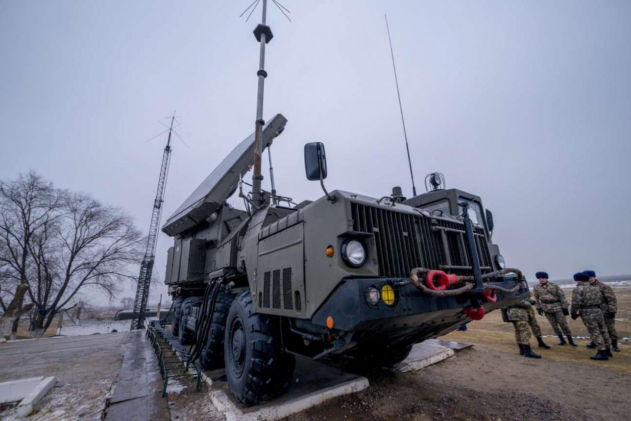 На боевом дежурстве в Казахстане сегодня стоят 10 дивизионов С-300ПС