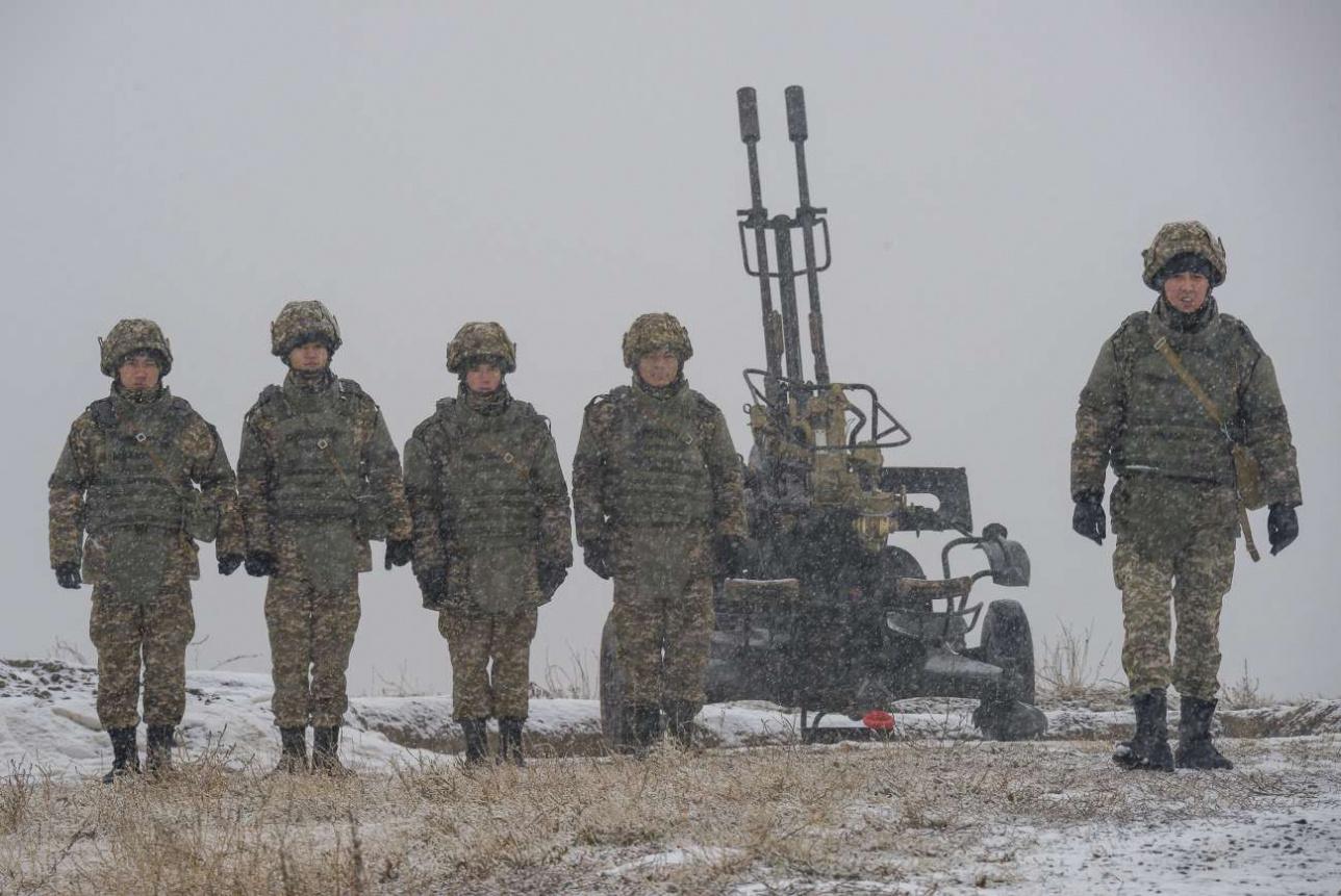 Дивизион прикрывает 23-мм спаренная зенитная установка ЗУ-23-2
