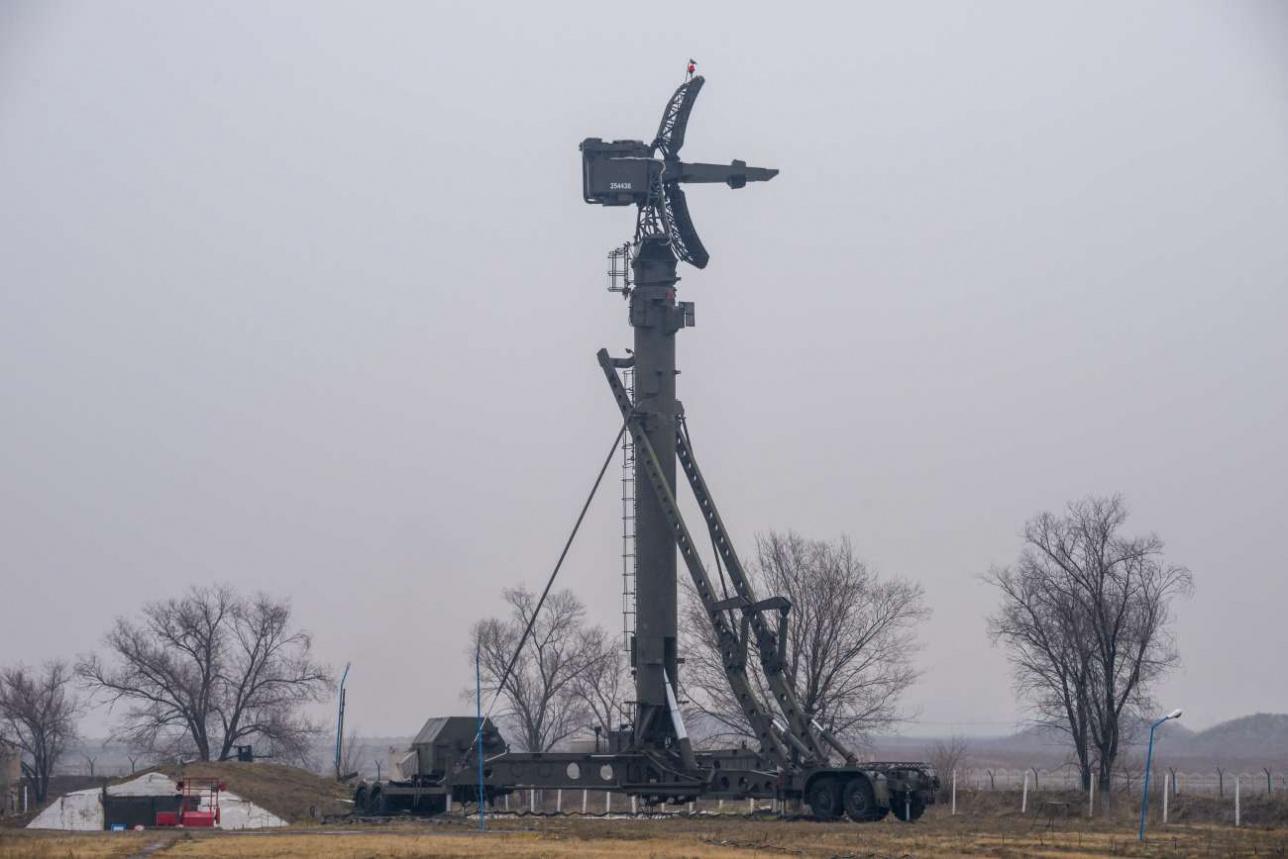 Низковысотный обнаружитель 76Н6 с доплеровской радиолокационной станцией (РЛС)